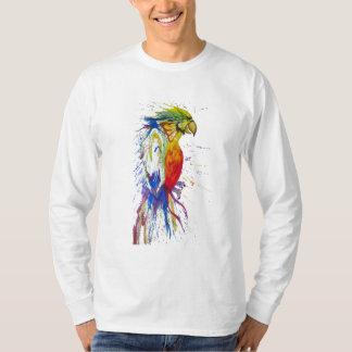 Camiseta Animal del pájaro del loro