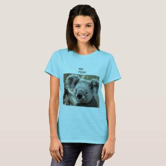 Camiseta Animal lindo adorable del oso peludo