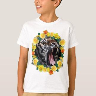 Camiseta Animal salvaje del gruñido asombroso del tigre de