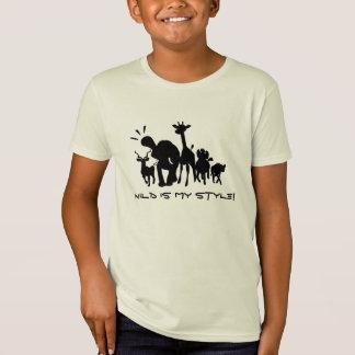 Camiseta Animales salvajes del safari