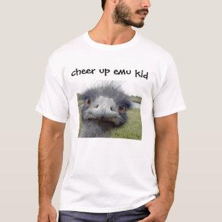 Camiseta anime para arriba al niño del emu