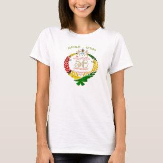 Camiseta Aniversario de la independencia de guyanés 50.o