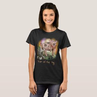 Camiseta Año chino del zodiaco del cerdo