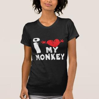 """Camiseta Año del mono """"amo mi mono """""""