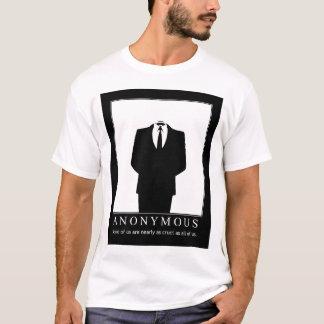 Camiseta Anónimo - defensores de Wikileaks