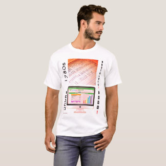 """Camiseta """"años 80 contra la contabilidad 2000s """""""