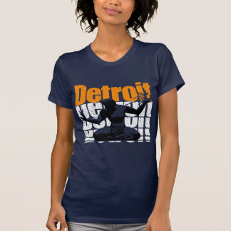 Camiseta Años 80 DETROIT (diseño apenado) del vintage
