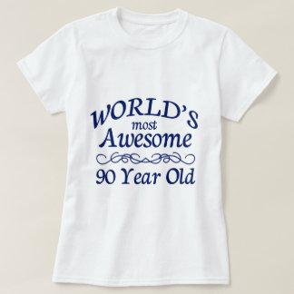 Camiseta Años más impresionantes del mundo los 90
