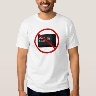 Camiseta anti de la cerradura de casquillos
