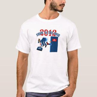 Camiseta anti de la obra clásica de Obama