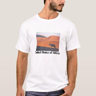 Camiseta Antílope del Oryx, Estados Unidos de África