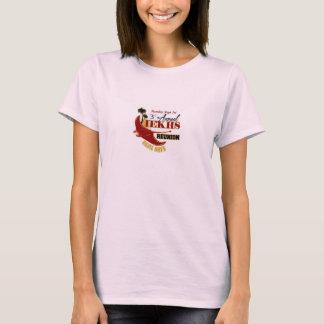 Camiseta anual de la reunión del rosa de las