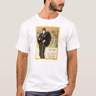 Camiseta Anuncio 1926 del expositor de la película muda de