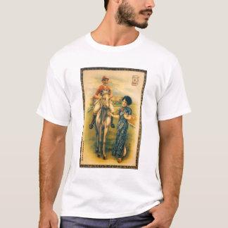 Camiseta Anuncio asiático del cigarrillo del vintage