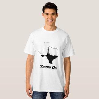 Camiseta Aparejo de la perforación petrolífera de Tejas
