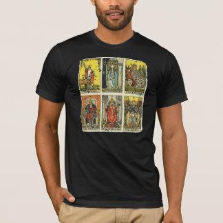 Camiseta apenada vintage de Tarot: Primer