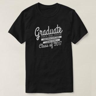 Camiseta apenada vintage graduado del regalo de la