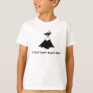 Camiseta apenas no puedo ahora--Gatos divertidos Kimmi y