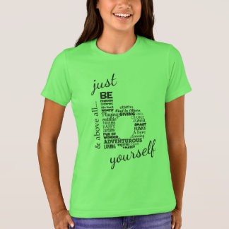 Camiseta Apenas sea Yourself_Kids