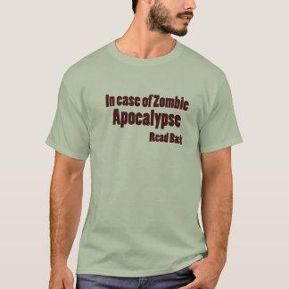 Camiseta Apocalipsis del zombi