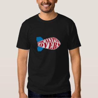 Camiseta apocalíptica del concierto de la bomba de