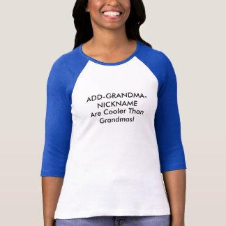 Camiseta Apodo adaptable de la abuela