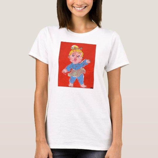 Camiseta Aprendizaje caminar