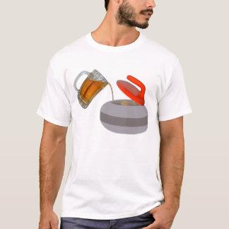 Camiseta Aprovisionado de combustible por la cerveza