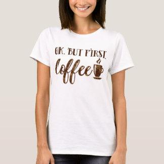 Camiseta Apruebe pero el decir divertido de la mañana del