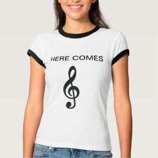 Camiseta aquí viene el *highfive* AGUDO del lmao