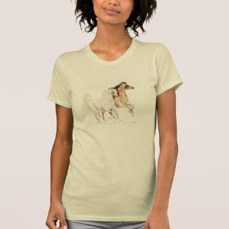 "Camiseta árabe de los caballos - ""dos amigos Tu """