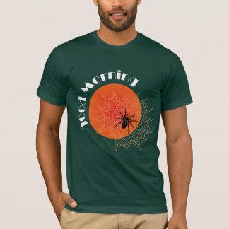 Camiseta Araña de cruz en la red con alba Shirt