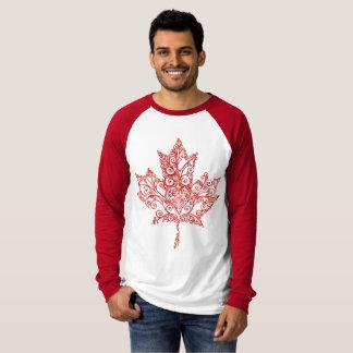 Camiseta Árbol de arce de la hoja de arce