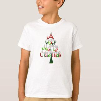 Camiseta Árbol de navidad muy feliz