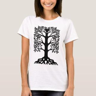 Camiseta Árbol del corazón con las raíces