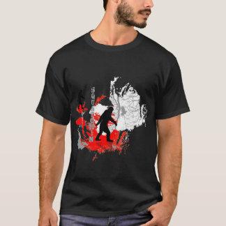 Camiseta Arbolado ido del logo* del *black de Squatchin