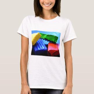 Camiseta Arcilla colorida
