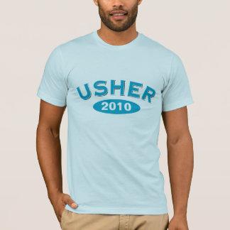 Camiseta Arco azul 2010 de Usher