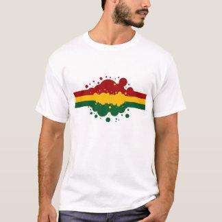 Camiseta Arco iris de Rasta