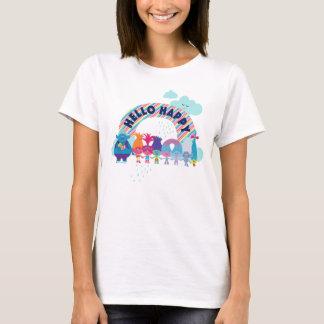 Camiseta Arco iris feliz de los duendes el  