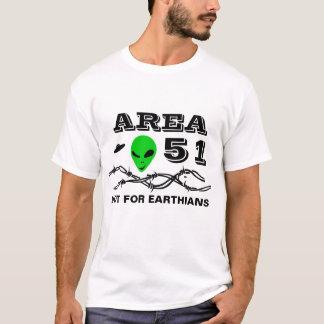 Camiseta Área 51 no para el personalizable divertido de