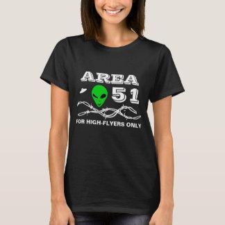 Camiseta Área 51 para el personalizable divertido de los