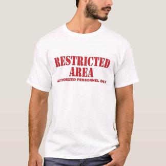 Camiseta Área restricta