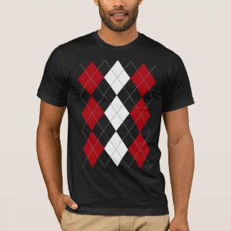 """Camiseta Argyle: """"Camisa de la inocencia del rojo carmesí"""""""