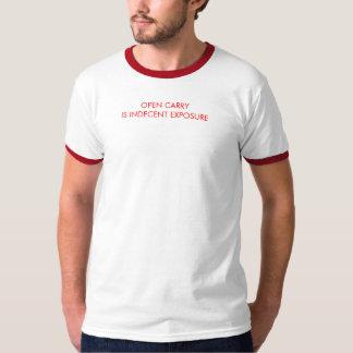 Camiseta arma anti