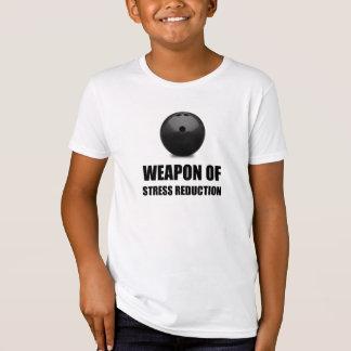 Camiseta Arma de los bolos de la reducción del estrés
