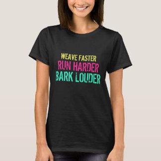Camiseta Armadura más rápidamente. Corra más difícilmente.
