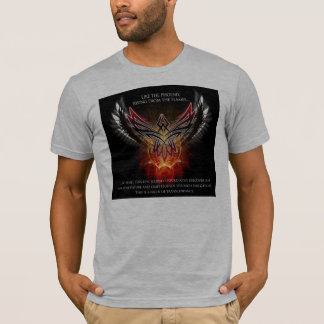 Camiseta armonía-techno-tribal-Phoenix
