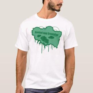 Camiseta Arraigado y puesto a tierra