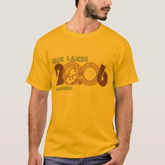 Camiseta Arrastre justo 2006 de la barra de los lagos